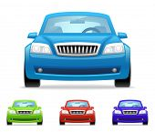 stock photo of car symbol  - Car icons - JPG