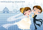 picture of wedding invitation  - Happy Wedding Day - JPG