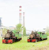 stock photo of former yugoslavia  - steam locomotives - JPG