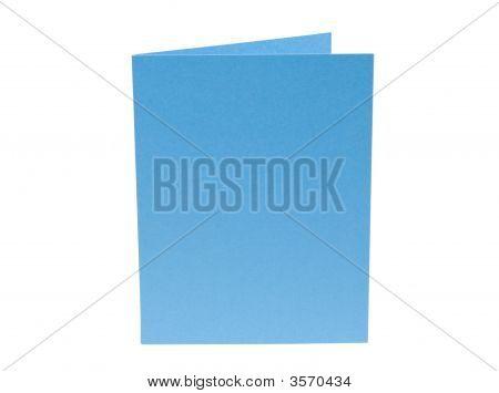 Light Blue Blank Card
