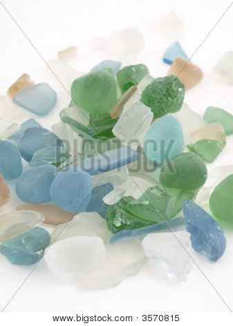 Colorful Glass Stones
