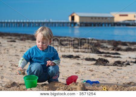 Jogo de praia.