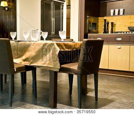 Design of classical modern kitchen