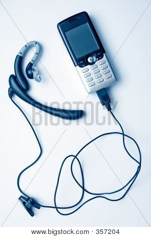 Mobile Phone And Handsfree