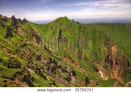 Landscape In Puy De Sancy Mountain