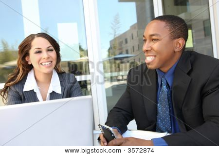 Diverse Business Team Meeting As A Group