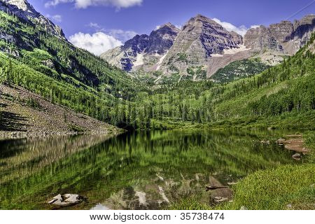 Maroon Lake Reflection