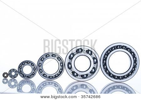 bearing  tool. isolated on white