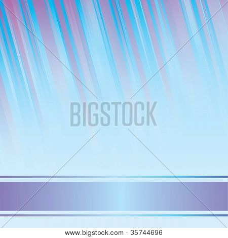 Blue luminous rays. EPS 8 vector file included