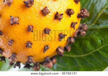 Decoración y Navidad naranja