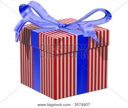 Red White And Blue Gift