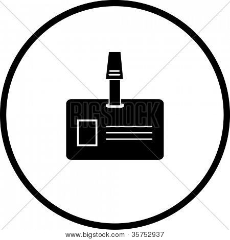 identification with photography symbol