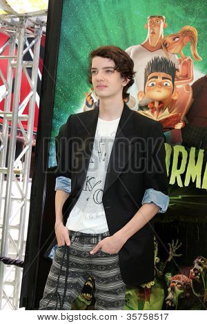 LOS ANGELES - AUG 5:  Kodi Smit-McPhee arrives at the