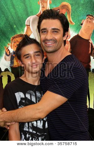 """LOS ANGELES - AUG 5:  Gilles Marini arrives at the """"ParaNorman"""" Premiere at Universal CityWalk on August 5, 2012 in Universal City, CA"""