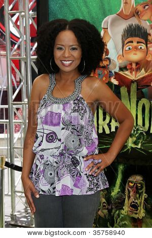 "LOS ANGELES - AUG 5:  Tempestt Bledsoe arrives at the ""ParaNorman"" Premiere at Universal CityWalk on August 5, 2012 in Universal City, CA"