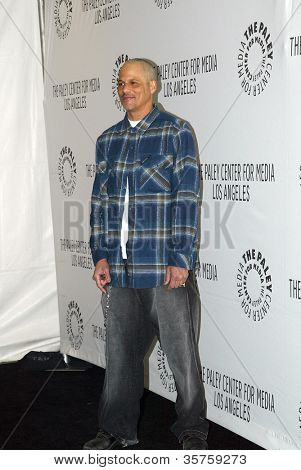 """BEVERLY HILLS - MARCH 7: David Labrava arrives at the 2012 Paleyfest """"Sons of Anarchy"""" panel on Wednesday, March 7, 2012 at the Saban Theater in Beverly Hills, CA."""