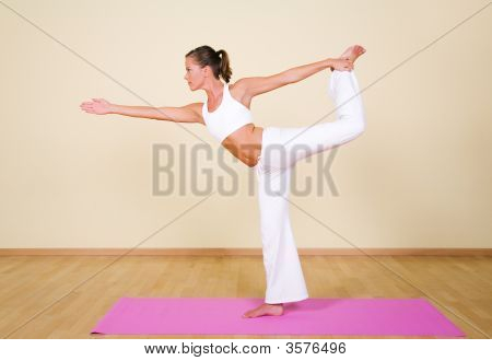 Yoga - Nataraja-Asana