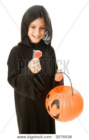 Halloween Lollipop