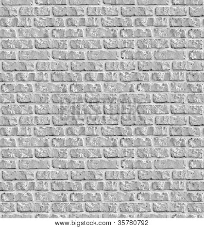 Grey brickwork seamless background - texture pattern for continuous replicate.