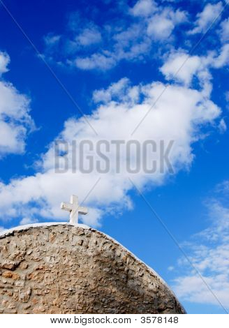 Church And Blue Sky