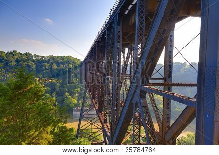 High Bridge railroad tressle in Kentucky
