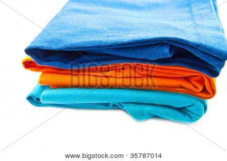 Pile Of T-shirt