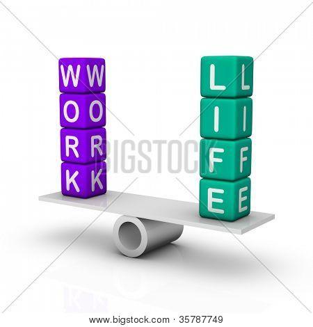 Arbeit und Life-balance