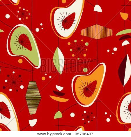 Seamless vintage pattern - Vector EPS10.