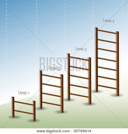 An image of a four phase ladder chart.