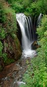 image of spearfishing  - Roughlock waterfall in Spearfish Canyon situated in the Black Hills of South Dakota - JPG
