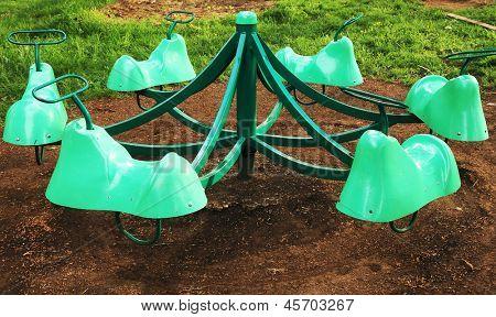 Ferris wheel in a park