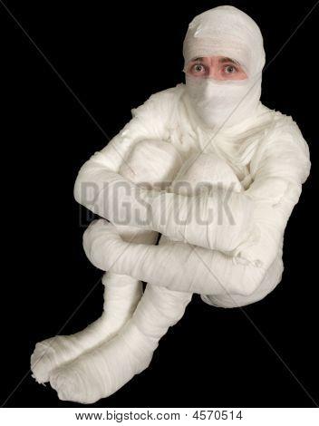 Boy In Bandage