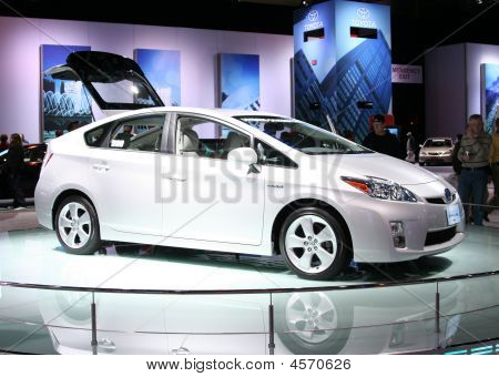 der neue Toyota Prius auf der Autoshow 2009 in chicago