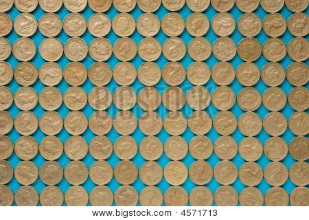 Pound Coins Pattern