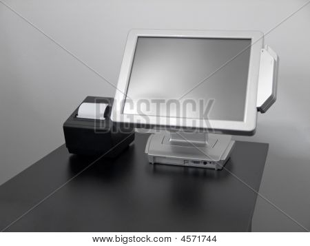Visor de Lcd touch-screen
