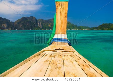 Ship Nose Getaway Journey
