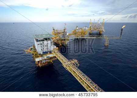 The  Large Offshore Oil Rig