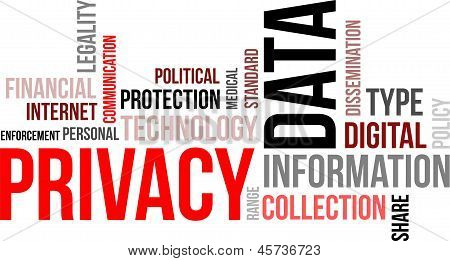 Word Cloud - Data Privacy