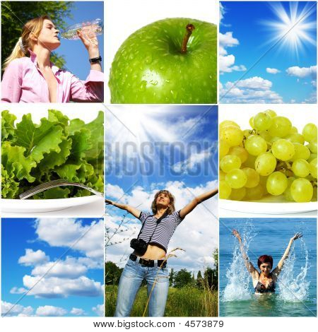 Healthy Lifestyle-Konzept