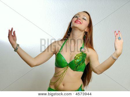 Oriental Dancing Girl