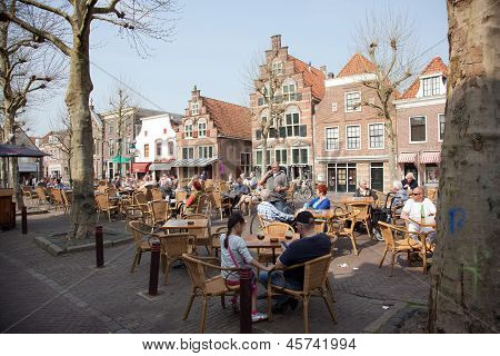 Terrace In Centre Of Oudewater