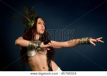 Native Savage Woman