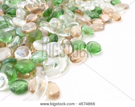 Various Glass Stones