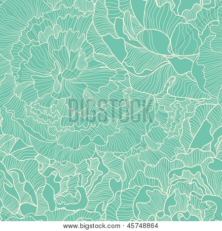 Vintage seamless pattern made of peony. Seamless pattern can be used for wallpapers, pattern fills, web page backgrounds,surface textures. Gorgeous seamless floral background