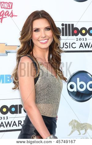 LOS ANGELES -  MAY 19:  Audrina Patridge arrives at the Billboard Music Awards 2013 at the MGM Grand Garden Arena on May 19, 2013 in Las Vegas, NV