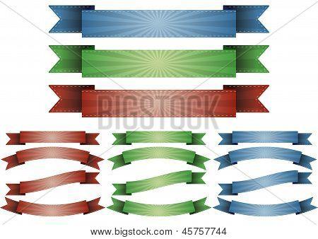 Ribbon Sunburst