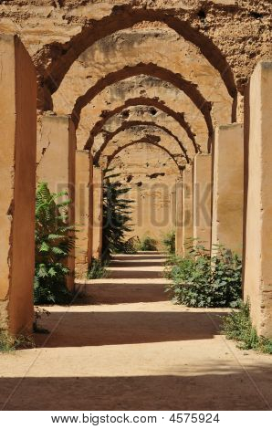 Ancient Stables Of Meknes