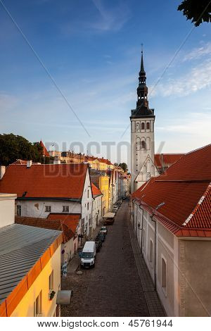 streets of tallinn estonia