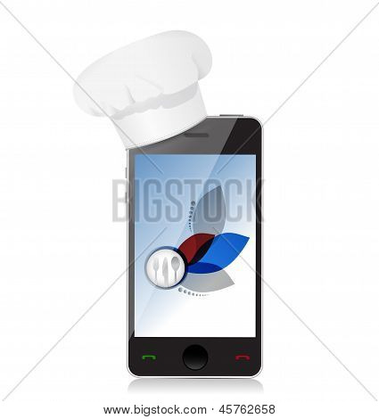 Cooking Recipes On Your Smartphone.