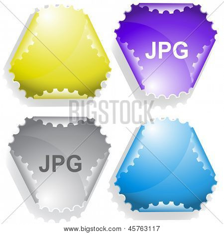 Jpg. Raster sticker. Vector version is in my portfolio.